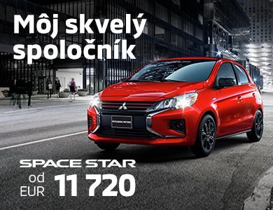 Space Star už od 9 390 EUR