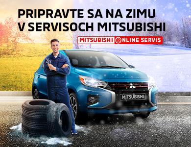 Pripravte sa na zimu v servisoch Mitsubishi