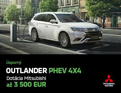 Mitsubishi Outlander PHEV UŽ OD 30 990 EUR*!