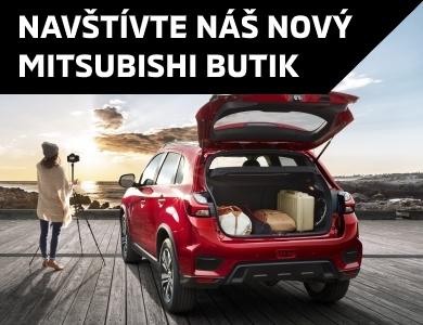 NOVÝ BUTIK MITSUBISHI