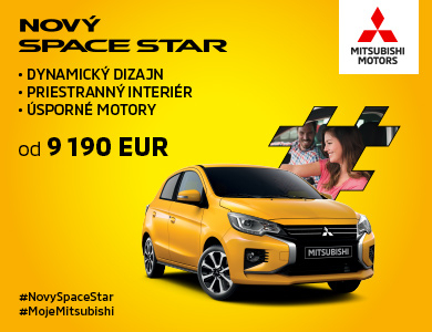 Nový Mitsubishi Space Star