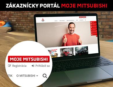 APLIKÁCIE Moje Mitsubishi