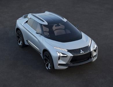 MITSUBISHI MOTORS po prvý krát predstavuje koncepčný model  MITSUBISHI e-EVOLUTION CONCEPT